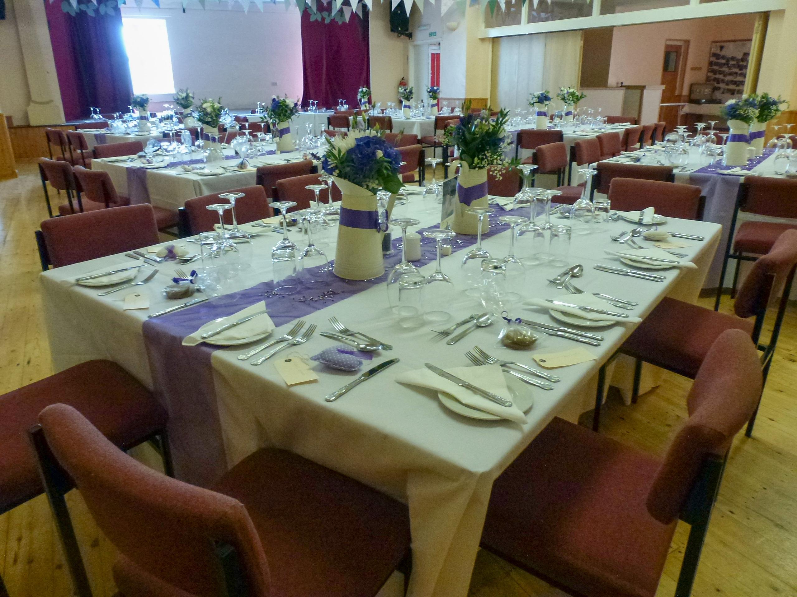 Ryhall Village Hall Wedding Reception Rutland 08
